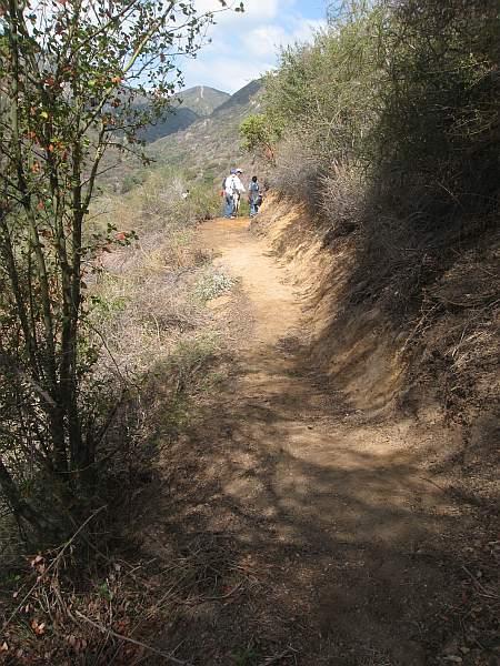 20070929006-Ken Burton Corba Trailwork Day, rebuilt section of trail